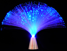 lampara fibra optica