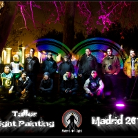 2014 Workshop Light painting Madrid enero