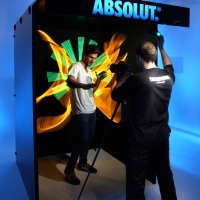 2014 Tour Absolut (Photocall Light painting)