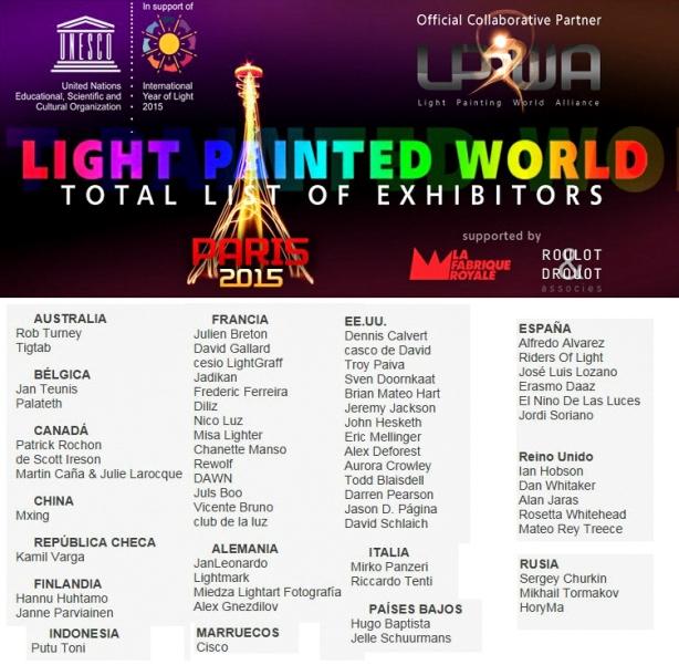 exhibitors paris