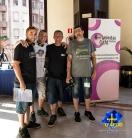 Con Manu Míguez e Iván HLP