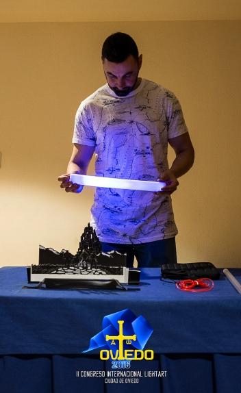 Taller dioramas de Dave Astur