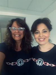 Nuestras chicas Riders, Mabel e Isa