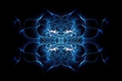 Simetría azul 03