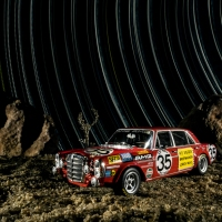 Mercedes Star Trail